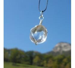Quartz Hyalin Cristal de Roche du Mont-Blanc